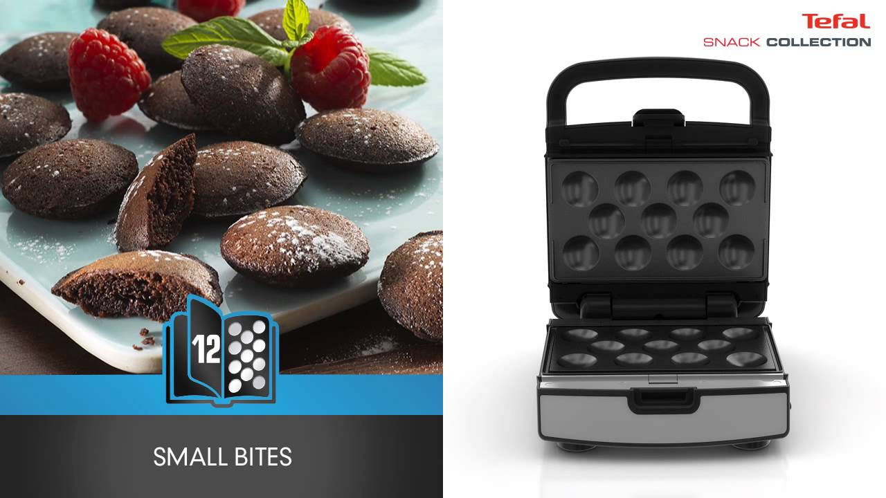 tefal snack collection toaster og vaffeljern youtube. Black Bedroom Furniture Sets. Home Design Ideas