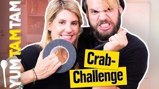 Können wir im KRABBEN-STYLE kochen? // Crab-Challenge #1 // #yumtamtam