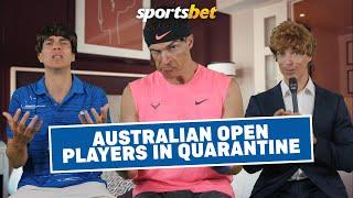 Australian Open Players in Quarantine
