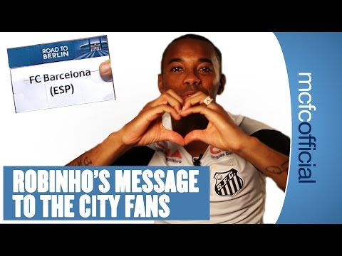 ROBINHO'S MESSAGE TO THE FANS | City Today