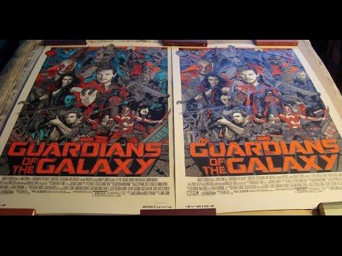 More Limited Edition Prints: Durieux - Pulp Fiction, Horkey - FOTR Variant, Stout GOTG Variant, Etc.