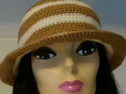 Crochet Hats Crochet Ladies Brimmed Hats Youtube