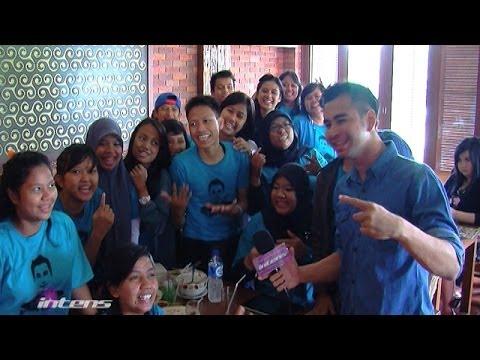 Raffi Ahmad Kumpul Bareng Fans - Intens 20 Desember 2013