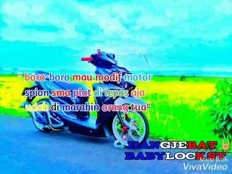 Kata Kata Anak Motor Beat Romantis