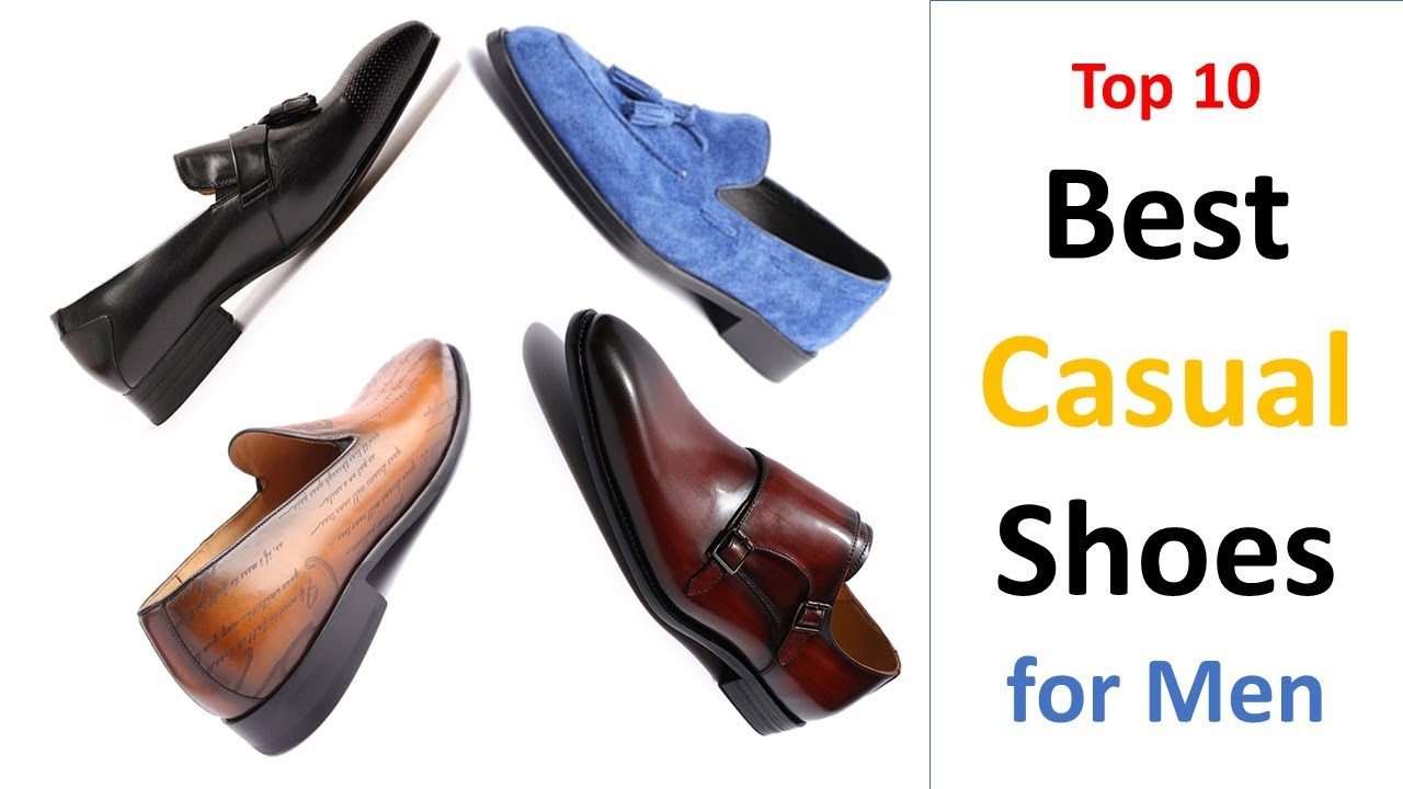 Top 10 Best Casual Shoes For Men
