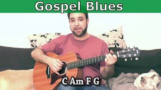 Lesson: Gospel-Style Fingerstyle Blues - In-Depth Guitar Tutorial