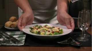 Blue Cheese, Pancetta & Pear Salad