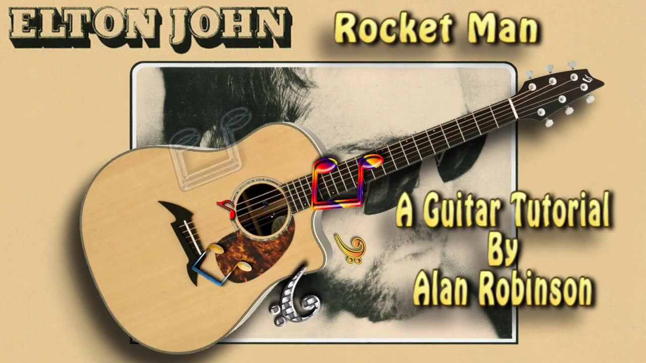 Rocket man elton john acoustic guitar lesson easy ish youtube rocket man elton john acoustic guitar lesson easy ish hexwebz Choice Image