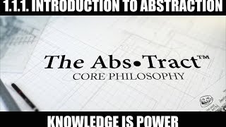 1.1.1. Introduction to Abstraction, of The Abs•Tract: Core Philosophy Thumbnail