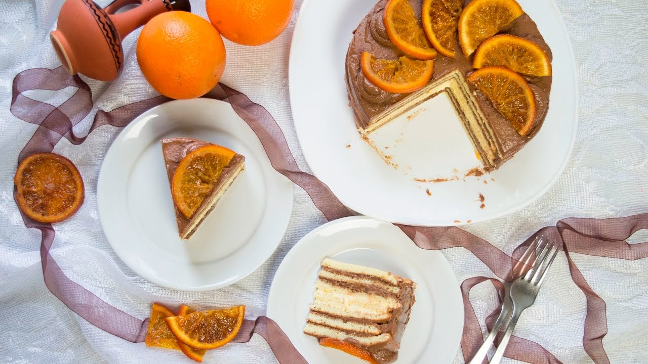 рецепт торта добош с фото