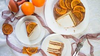 Торт Добош апельсиновый Dobos torte