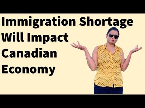 Immigration Shortage Will Impact Canadian Economy | Canada Couple