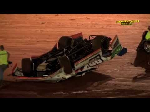 NeSmith Late Models at 411 Motor Speedway Aug  30 2014