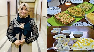 Another weekend lunch vlog | Loaded Chicken Fries, Cold salad, Pineapple pudding & Biriyani
