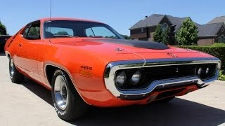 1971 Plymouth Road Runner 440 6 Pack For Sale