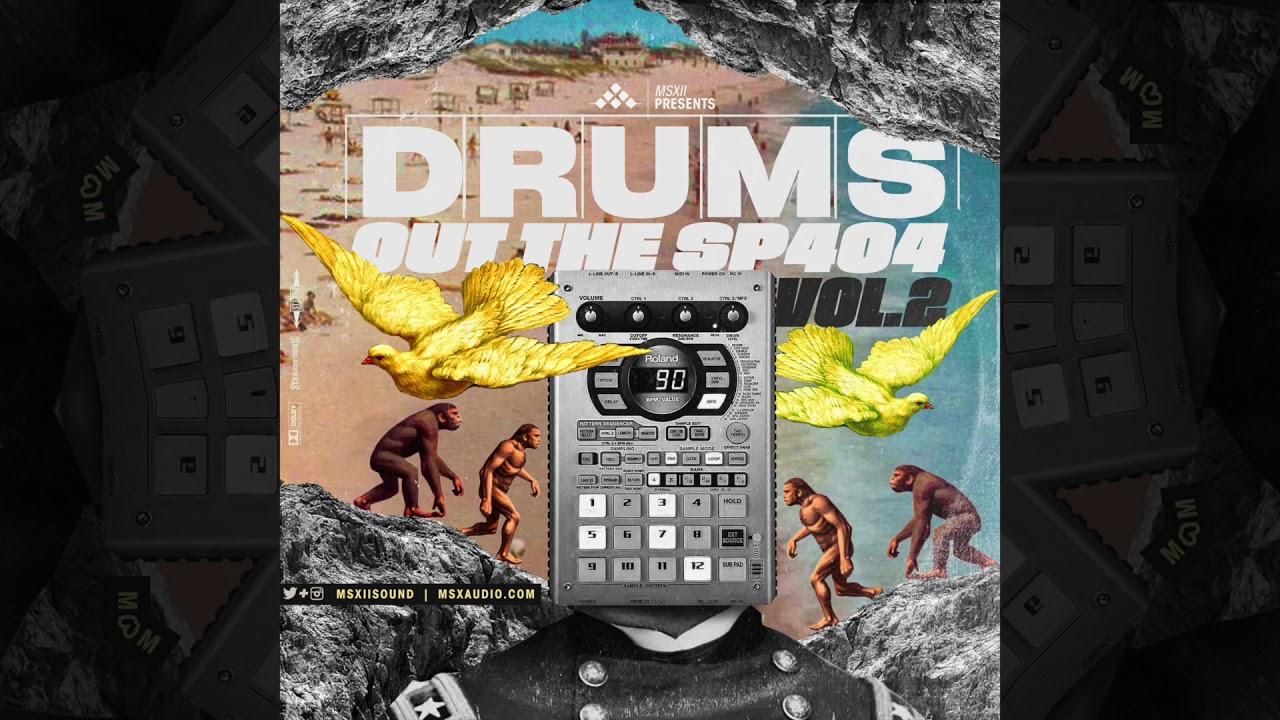 LOFI Drum Kit - Drums Out of The SP404 Vol  2