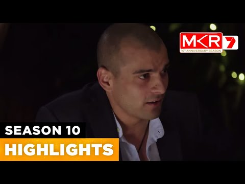 Victor Blows Up At The Table | MKR Season 10 Episode 42