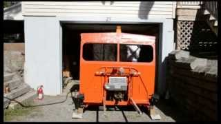 Bangor and Aroostook Motorcar 62 First Start - 5-11-14