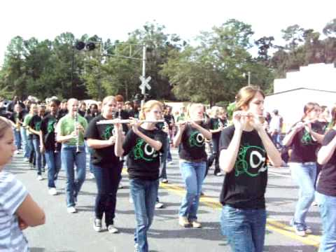CCHS Marching Wildcats--2009 Catfish Festival Parade