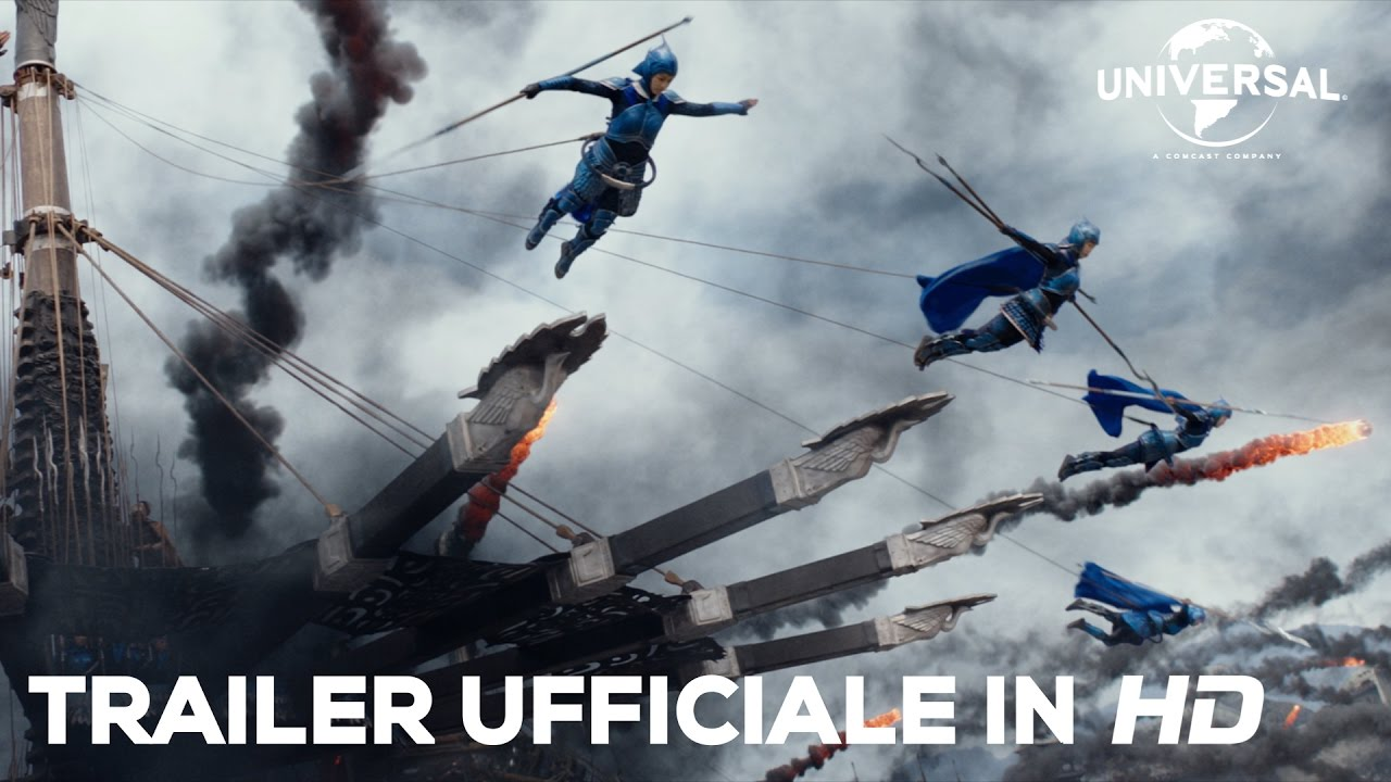 Download THE GREAT WALL di Zhang Yimou con Matt Damon - Secondo trailer italiano ufficiale