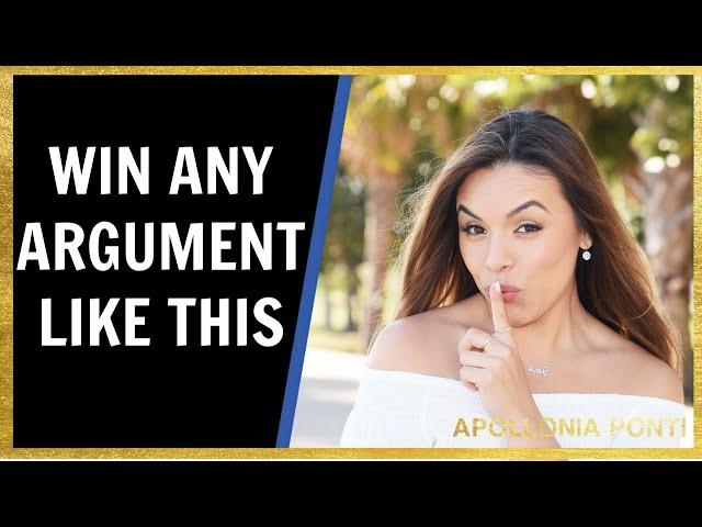 How To Win Any Argument | The RIGHT WAY In Relationships!
