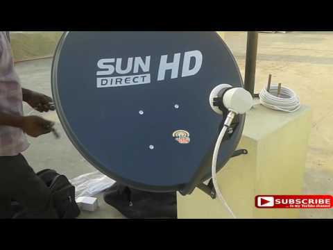 DTH Installation | Sun Direct dth | HD |Digital hub9