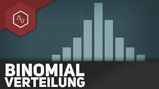 Binomialverteilung, Bernoulli-Formel & Binomialkoeffizient thumbnail