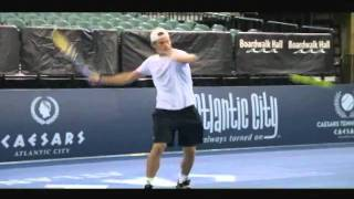 Andy Roddick talks about his job as a tennis pro in World of Tennis - Episode 6 - Segment 2 of 4