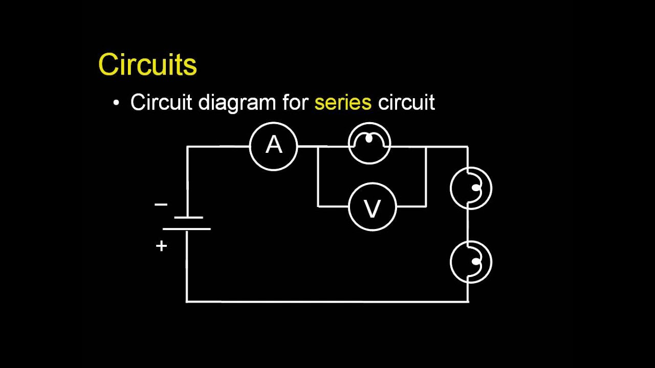 Introduction To Circuits Youtube A Parallel Circuit Diagram
