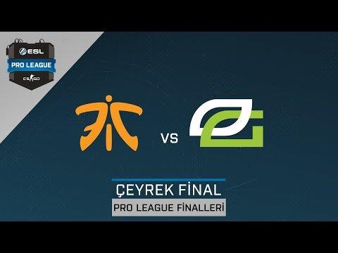 CS:GO - Fnatic vs. OpTic [Inferno] Harita 1 - Çeyrek Final - ESL Pro League Sezon 6 Finaller