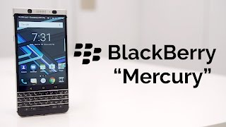 """BlackBerry """"Mercury"""": First Look at CES 2017"""
