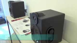 Enceintes Philips Studio Speakers S5X - présentation FR