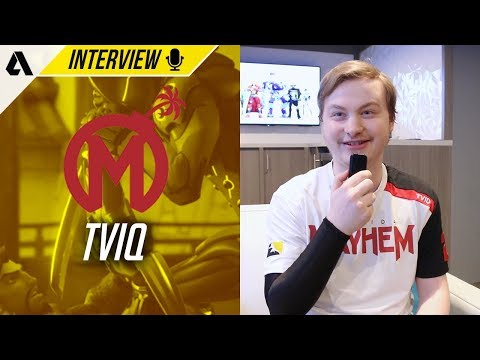 Florida Mayhem TviQ On Toxicity in OWL, Entrance Ideas & Encouragement From Fans | OWL Interview