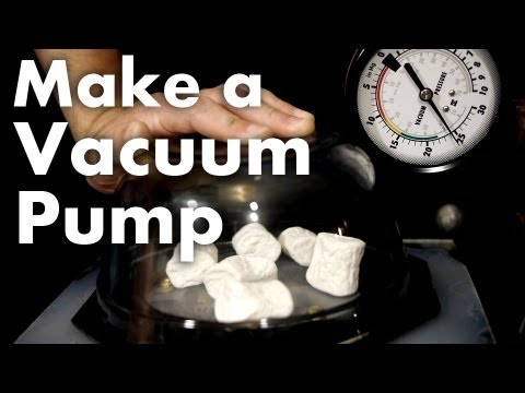 How to Make a Vacuum Pump