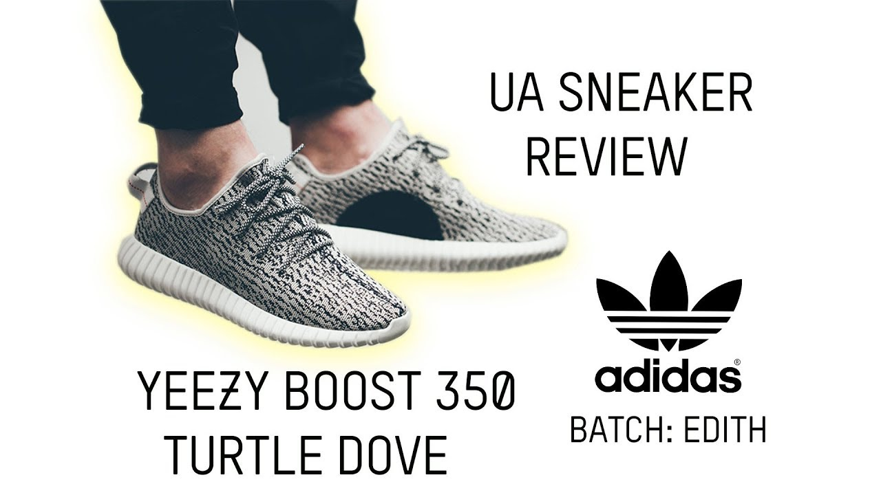 0bcb99c9038aa Yeezy Turtle Dove Real Vs. Fake Review! - YouTube