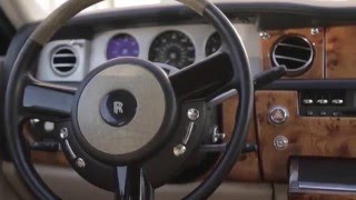 Прокат автомобилей без водителя Rolls Royce / роллс ройс Фантом белый(, 2016-01-20T09:32:39.000Z)