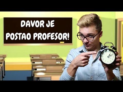 DAVOR GERBUS POSTAO PROFESOR | thelazyWAVE