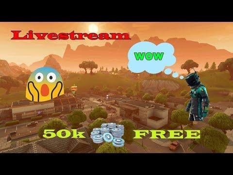 🔴 Livestream 50K V-BUCKS FREE !! DAU UN MODERATOR