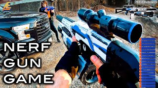NERF GUN GAME | MODDED MAYHEM 3.0 Nerf First Person Shooter