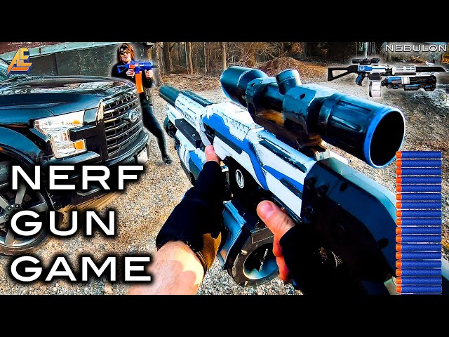 NERF GUN GAME | MODDED MAYHEM 3.0 (Nerf First Person Shooter)