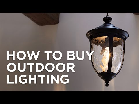 How to Buy Outdoor Lighting Buying Guide - Lamps Plus