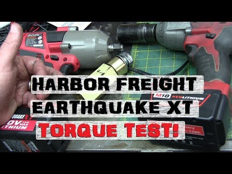 BOLTR: Harbor Freight Earthquake XT | SKOOKUM?!