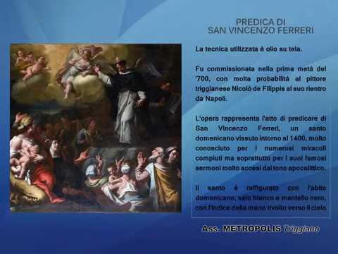 Tela Predica di San Vincenzo Ferreri