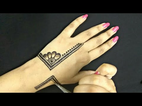 Easy / Latest Mehndi Design | Unique Henna Designs | Latest Jewellery Mehndi Designs | 2018
