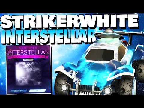 I Got Tw Striker Interstellar Insane Trade For New Most Expensive Black Market In Rocket League Youtube