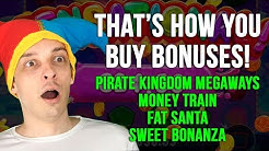 BUYING BONUSES! 4 Different Slots in a Row – All Profit