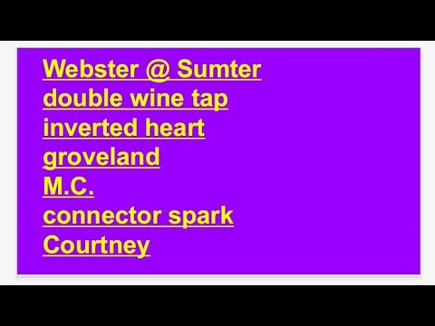 Webster @ Sumter; 'empire church' double tap inverted heart connector