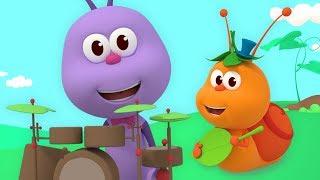 Inscreva-se no nosso canal! http://bit.ly/Inscreva-seBichiKids Letra da musica A formiga Toto, a formiga Toto Sobe pelas folhas e anda no tobogã A formiga Toto, ...