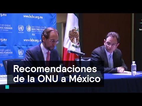 Derechos Humanos: Recomendaciones de la ONU a México - Despierta con Loret