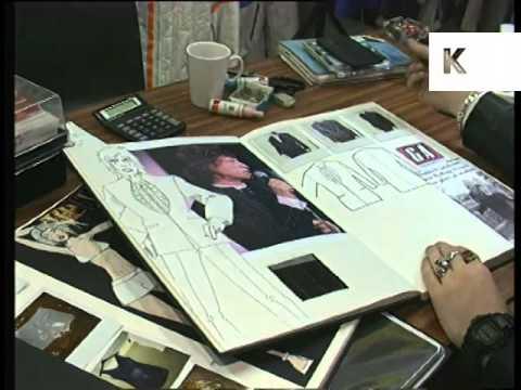 1990s Mr Gammon Fashion Designer Profile, UK Archive Footage
